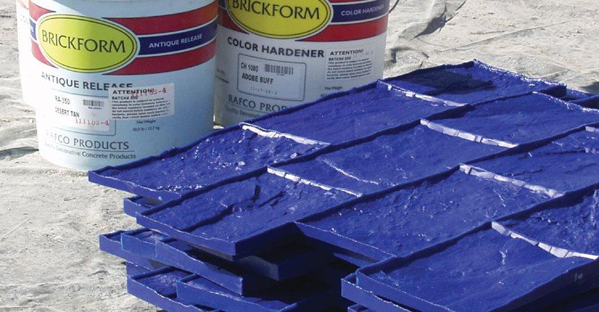 Color Hardener Stamping Site Brickform Rialto, CA