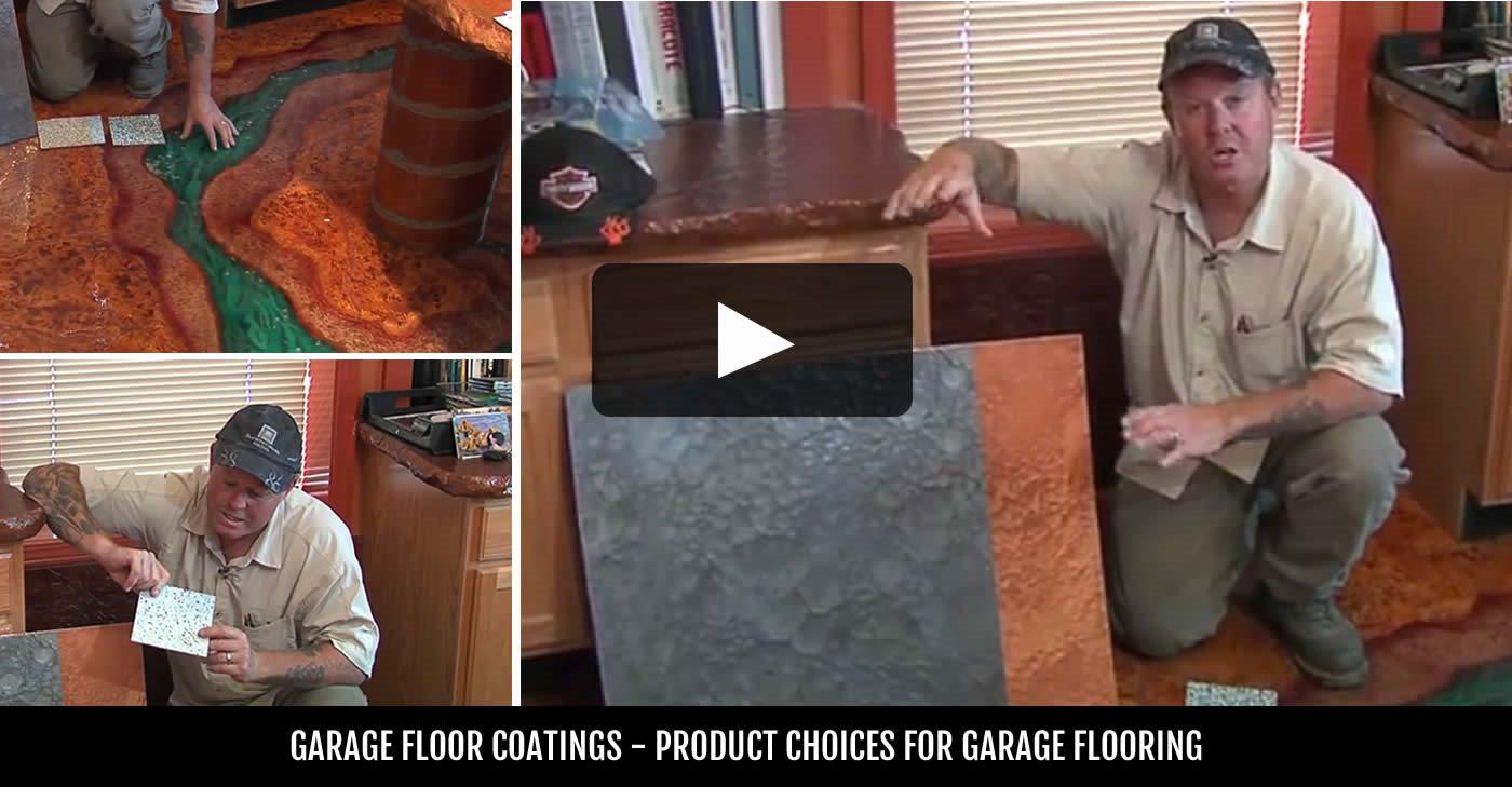 Garage Floor Coatings Site ConcreteNetwork.com ,