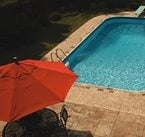 Tan, Title Border Concrete Pool Decks L.M. Scofield Company Douglasville, GA