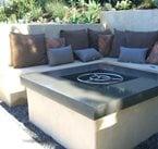 混凝土地板,加州Costa Mesa Hart Concrete Design