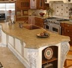 Victorian, Curved Concrete Floors Stone Passion Salt Lake City, UT