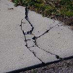 Cracked Concrete, Driveway Cracks Site Shutterstock