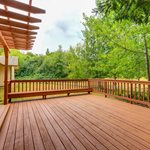 Wood Deck, Railing Site Shutterstock