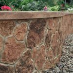 Stone, Wall Site Custom DesignCrete, Inc Crescent, PA