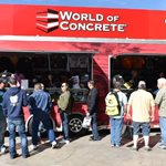 Woc Merchandise, Trailer Site World of Concrete ,