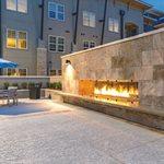 Modern Concrete Patio, Spray Coating Site Sundek Products USA, Inc. Arlington, TX
