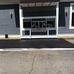 Drive Thru, Concrete Repair, After Site Redi Mix Colors & Sealers Taunton, MA