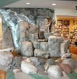 Indoor Waterfall, Natural Rock Site Colorado Hardscapes Denver, CO