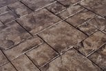 Grand Ashlar Pattern, Stamped Concrete Site Brickform Rialto, CA