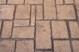 Cobble Stone Stamped Concrete Site Scofield Systems ,