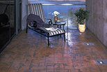 Fractured Slate Stamped Patio Site Scofield Systems ,
