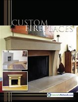 Concrete Fireplace Design Catalog