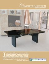 Concrete Furniture Design Catalog