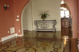 Stenciled Floor, Stained Floor, Patterned Floor Concrete Driveways Image-N-Concrete Designs Larkspur, CO