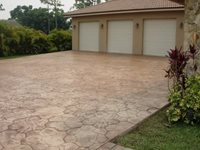 Concrete Driveways Final Touch Concrete Inc Loxahatchee, FL