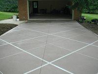 Concrete Driveways Artistic Concrete Coatings Wapakoneta, OH