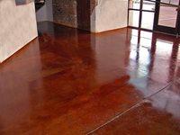 Rustic Stained Concrete Concrete Floors SolCrete Denton, TX