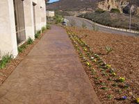 Concrete Patios Concepts In Concrete Const. Inc. San Diego, CA
