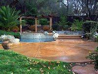 Concrete Pool Decks California Decorative Concrete El Dorado Hills, CA