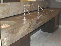 Sinks and Vessels Custom Crete Werks LLC Racine, WI