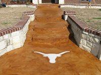 Concrete Walkways JZ'S Decorative Concrete The Colony, TX