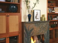 Fireplace Surrounds Absolute ConcreteWorks Poulsbo-Seattle, WA