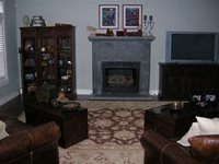 Fireplace Surrounds Decorative Concrete Design Issaquah, WA