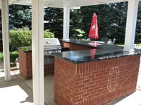 Outdoor Kitchens Conceptual Concrete & Engraving Ltd Woodville, OH