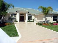 Elegant Concrete Engraving Sarasota, FL