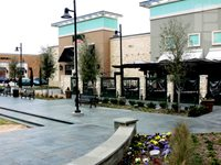 Shopping Mall Stamped Concrete Site Patterned Concrete by REY Plano, TX