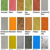 Metallic Overlay, Color Chart Site Versatile Building Products
