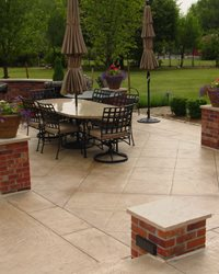 Concrete Patios QC Construction Products Madera, CA