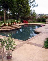 Concrete Pool Decks DuraFloor Santa Ana, CA