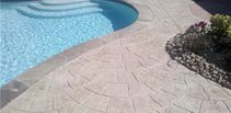 Concrete Pool Decks Advanced Concrete Designs Inc Humble, TX