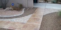 Concrete Walkways Decorkrete Inc. Tucson, AZ