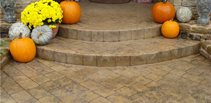 Cobble Stamp Stamped Concrete Advanced Concrete Designs, Inc Oklahoma City, OK