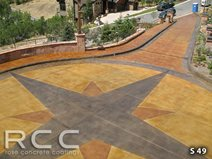 Driveway Turnaround Commercial Floors Rad Concrete Coatings LLC Riverton, UT