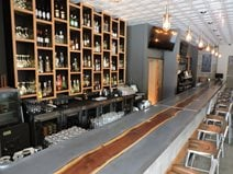 Custom Bar Top, Royal Electric Bar And Public Eatery Concrete Countertops Total Concrete Innovations Cambridge, ON