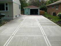 Concrete Driveway Finishes Paint Vs