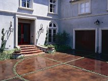 concrete driveways kemiko concrete coatings floor systems whittier - Concrete Driveway Design Ideas
