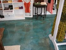 Aqua Concrete Floors Progressive Coatings Wilmington Nc