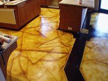 Concrete Dye, Concrete Dyed Floor Concrete Floors Advanced Construction Modesto, CA