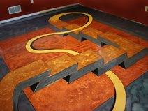 Ideas For Personalizing Concrete Floors The Network