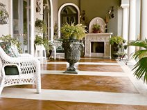 Decorative, Stained Concrete Floors Bomanite Corporation Madera, CA