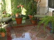 Small Backyard Patio Five Concrete Design Ideas The Concrete