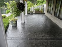 Dolphin Grey Concrete Patios Narrows Construction Gig Harbor, WA