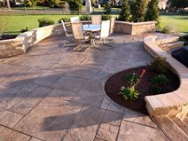 Concrete Patios Finishing Edge Inc Zionsville, PA