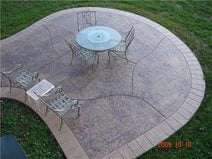 Concrete Patios J&H Decorative Concrete LLC Uniontown, OH