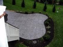 Brick Stamped Patio