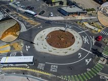 Roundabout, Dcc Award Concrete Patios Tom Ralston Concrete Santa Cruz, CA